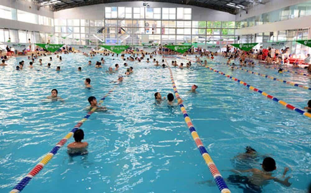 địa chỉ dạy bơi cho trẻ em