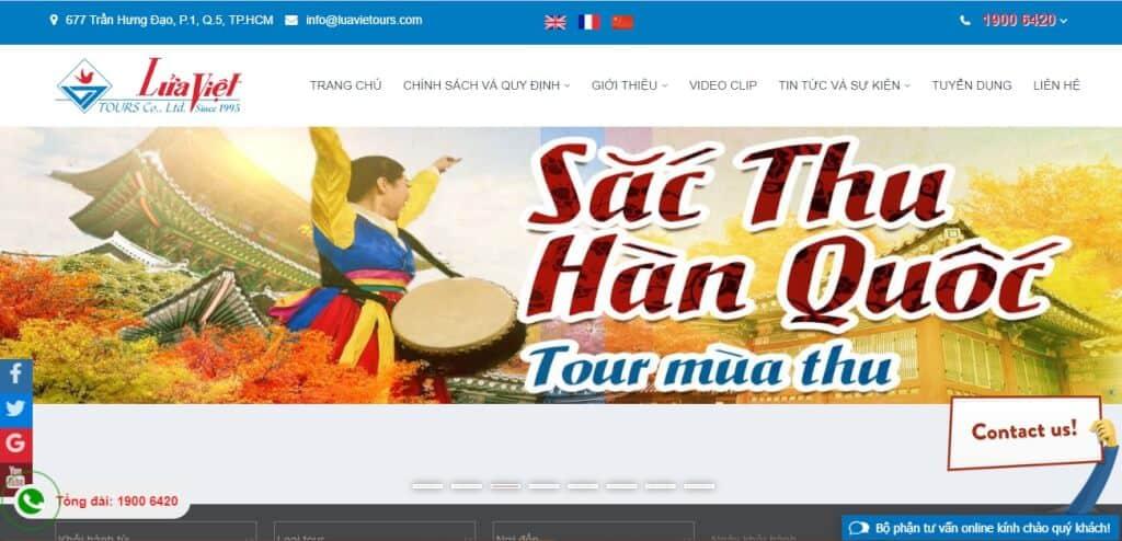 Công ty du lịch uy tín Lửa Việt