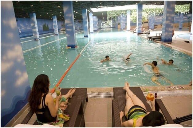 Top 10 Địa Chỉ Dạy Bơi Cho Trẻ Em Uy Tín Tại Hà Nội - địa chỉ dạy bơi cho trẻ em - Bể Bơi Bảo Sơn | Bể Bơi Bốn Mùa Tiến Đạt | Bể Bơi Bốn Mùa Times City 52