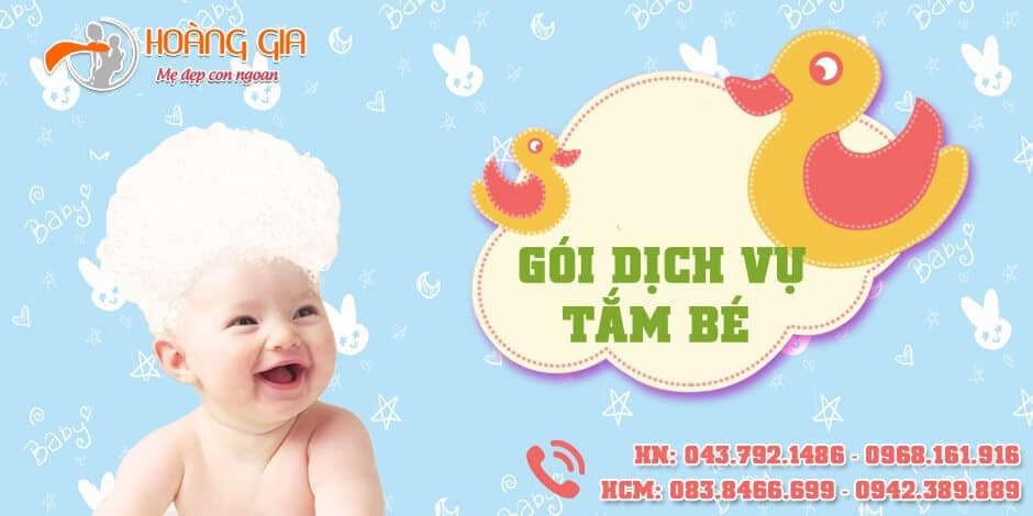 Hoàng Gia có phải là nơi uy tín với dịch vụ tắm cho trẻ sơ sinh hcm