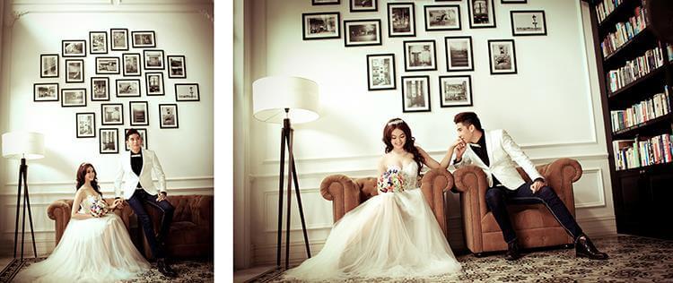 lưu ý để có bộ ảnh cưới đẹp
