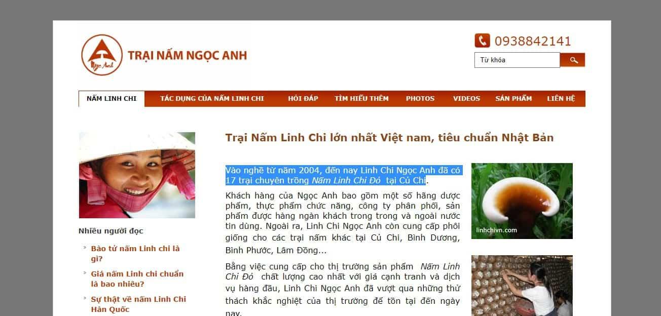 địa Chỉ Bán Nấm Linh Chi uy tín nhất hiện nay