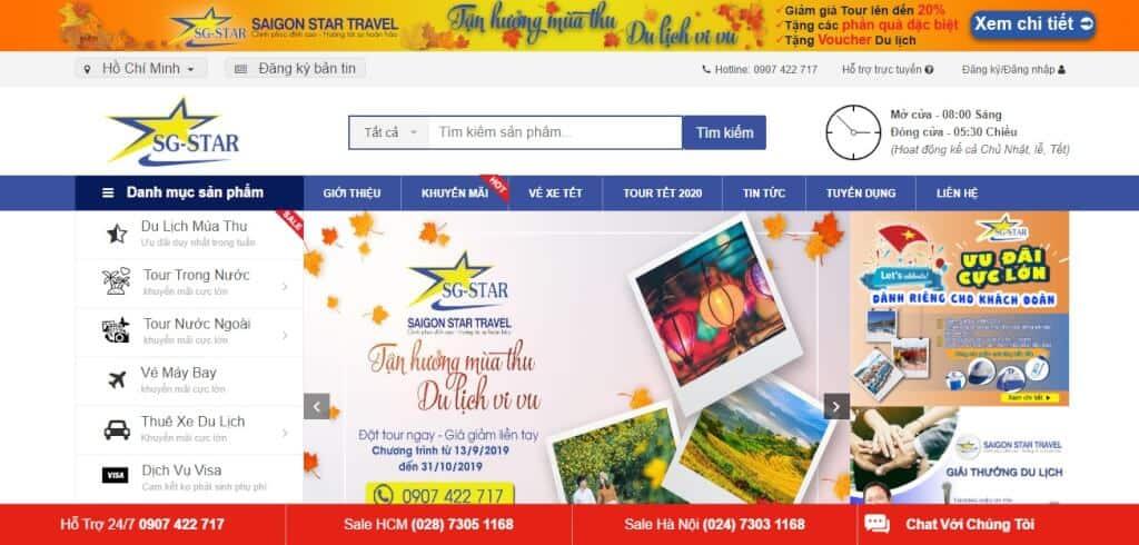 Saigon Star Travel - Công ty du lịch uy tín nhất tại tphcm