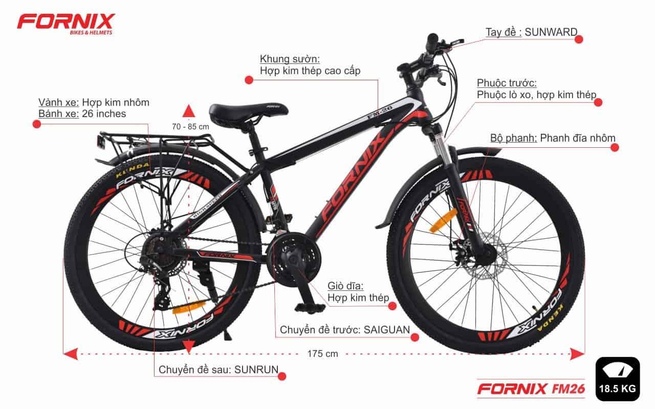 Top 10 Shop Bán Xe Đạp Chính Hãng Nổi Tiếng Tại Hà Nội - shop bán xe đạp chính hãng - F-x Bike | FORNIX | Hà Nội 67