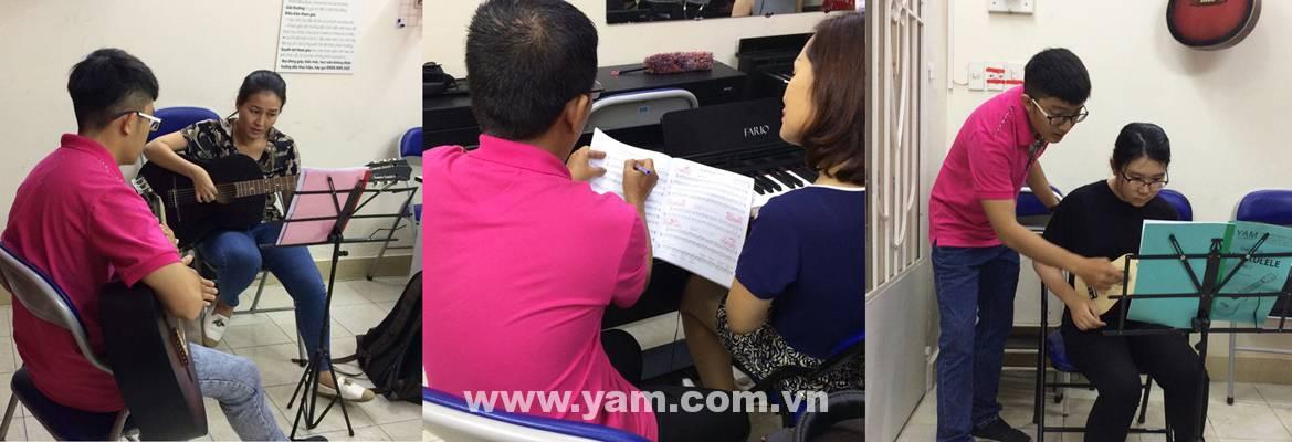 trung tâm đào tạo guitar nổi tiếng ở tphcm yam