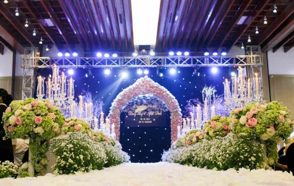 Top 10 Dịch Vụ Trang Trí Tiệc Cưới Đẹp Xuất Sắc Ở Đà Nẵng - dịch vụ trang trí tiệc cưới đẹp - Brown Bean Wedding & Event   Chino Wedding   Dịch vụ cưới hỏi Hường Khôi 71