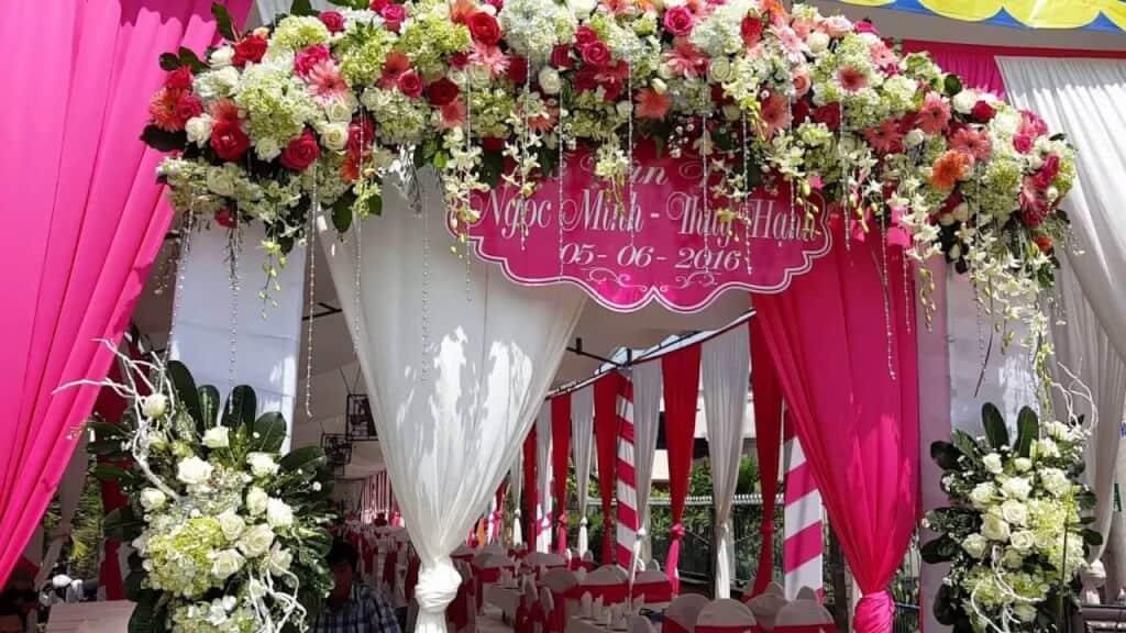 Top 10 Dịch Vụ Trang Trí Tiệc Cưới Đẹp Xuất Sắc Ở Đà Nẵng - dịch vụ trang trí tiệc cưới đẹp - Brown Bean Wedding & Event   Chino Wedding   Dịch vụ cưới hỏi Hường Khôi 63