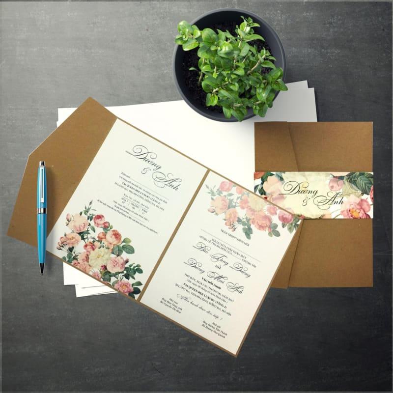 thiết kế in ấn thiệp cưới