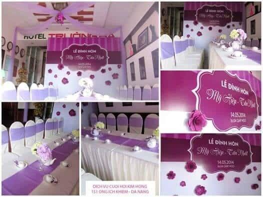 Top 10 Dịch Vụ Trang Trí Tiệc Cưới Đẹp Xuất Sắc Ở Đà Nẵng - dịch vụ trang trí tiệc cưới đẹp - Brown Bean Wedding & Event   Chino Wedding   Dịch vụ cưới hỏi Hường Khôi 49