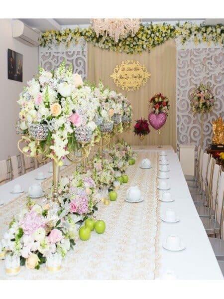 Top 10 Dịch Vụ Trang Trí Tiệc Cưới Đẹp Xuất Sắc Ở Đà Nẵng - dịch vụ trang trí tiệc cưới đẹp - Brown Bean Wedding & Event   Chino Wedding   Dịch vụ cưới hỏi Hường Khôi 65