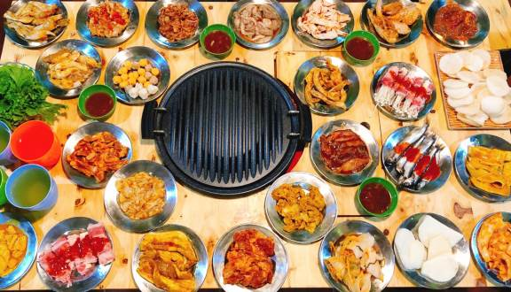 Top 5 Nhà Hàng Buffet Nướng Lẩu Giá Mềm, Ăn Ngập Mặt Tại TP HCM - nhà hàng buffet nướng lẩu giá mềm - Anrakutei | Buffet Béo | Chen Buffet 22