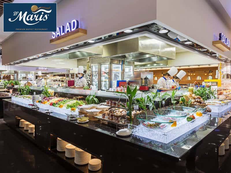 Top 5 Nhà Hàng Buffet Chất Lượng, Ngon Khó Cưỡng Tại TP HCM - nhà hàng buffet chất lượng - Crystal Jade Palace   D'Maris Cộng Hòa   Market 39 19