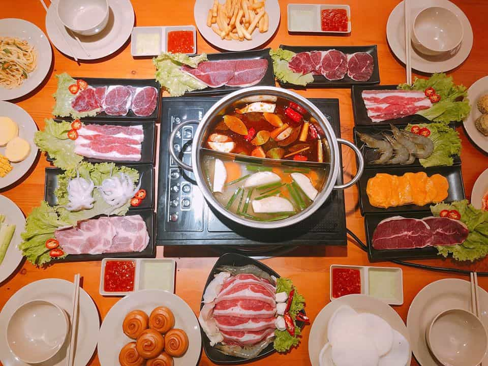 Top 5 Nhà Hàng Buffet Lẩu Bao Ngon, Bao No, Bao Rẻ Tại TPHCM - nhà hàng buffet lẩu ở hcm - Bangkok BBQ | Furano Sushi Buffet | Hoàng Yến Hotpot 49