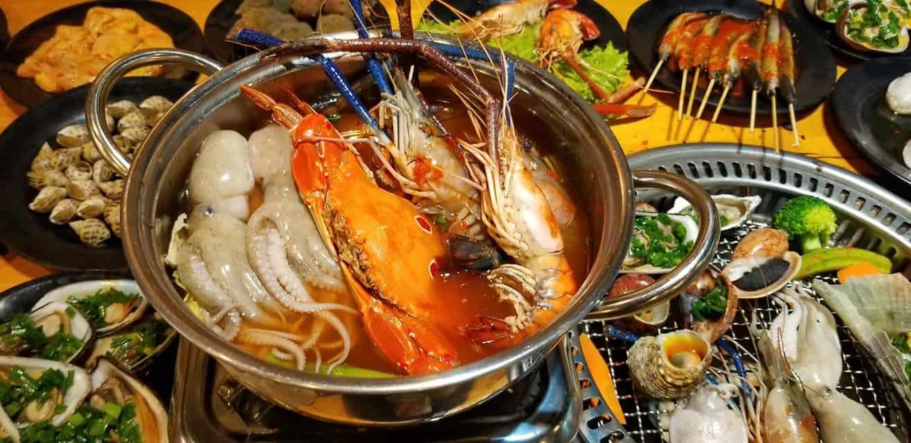 Top 5 Nhà Hàng Buffet Giá Rẻ 99k Không Nên Bỏ Lỡ Tại TPHCM - nhà hàng buffet giá rẻ dưới 100k - Anan BBQ | Buffet Những Chàng Trai | Cánh đồng quán 23