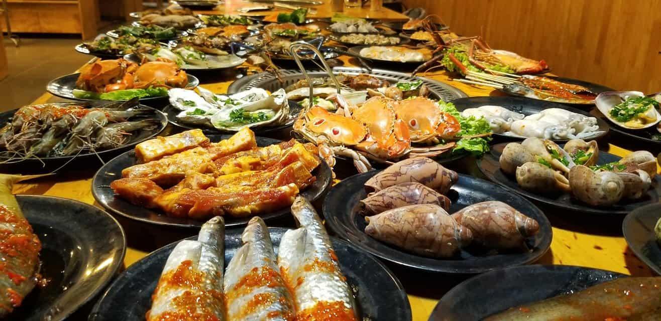 nhà hàng buffet giá rẻ dưới 100k