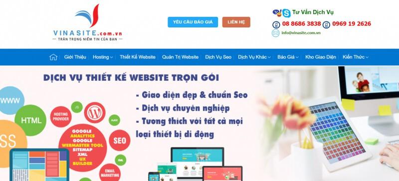 - Top 10 Công Ty Thiết Kế Website Chuẩn Ở Hà Nội