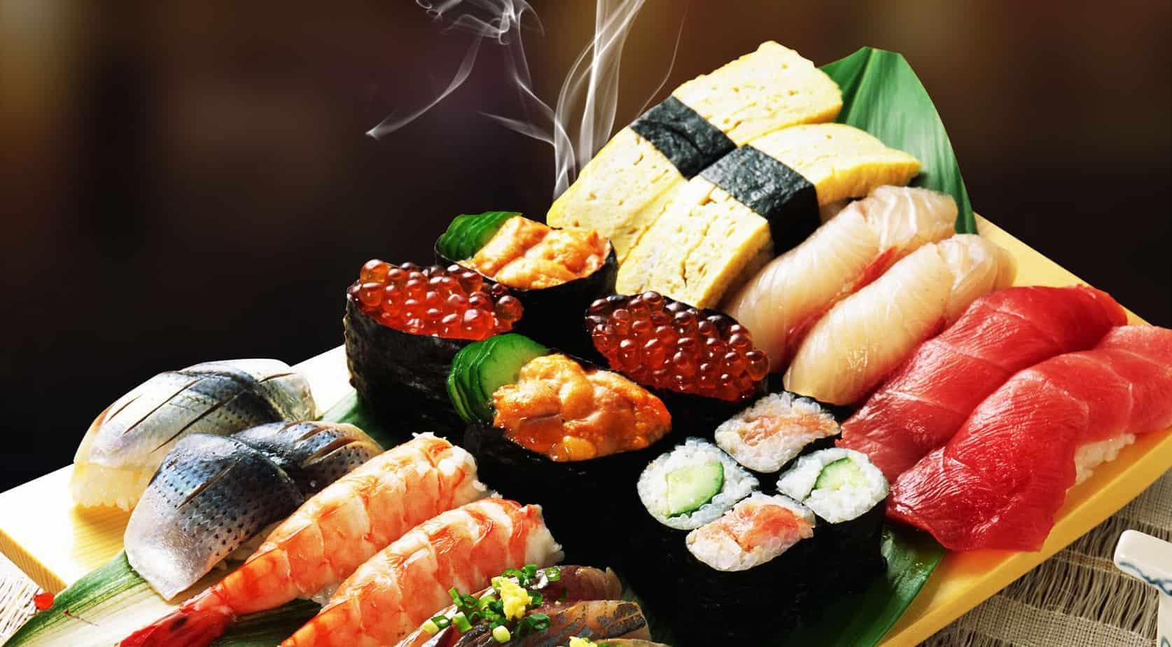 Top 6 Nhà Hàng Sushi Ngon Nhất Tại Quận 1 TPHCM - nhà hàng shushi ngon nhất tại quận 1 - Haha Sushi | Nhà hàng Lá Phong | Okome Sushi Bar 55