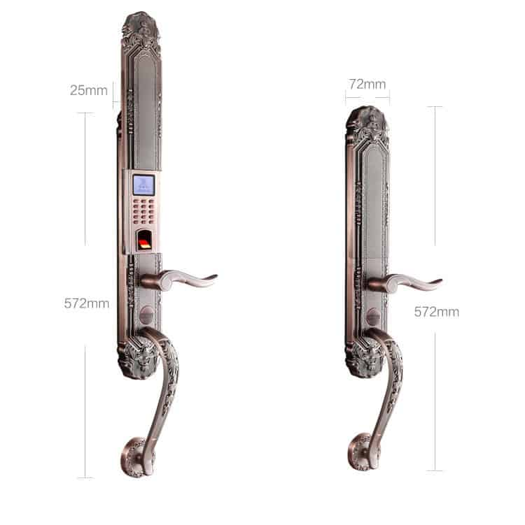 Top 8 Khóa Cửa Thông Minh Dành Cho Cửa Sắt - khóa cửa thông minh dành cho cửa sắt - Khóa Cửa | Khóa thông minh | Khóa thông minh 5ASYSTEMS SBS5000 29
