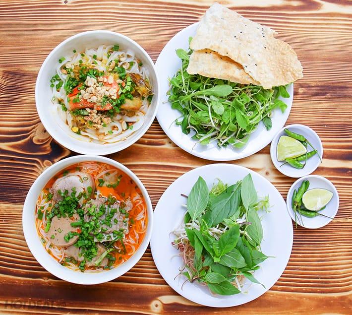 nhà hàng ẩm thực miền trung