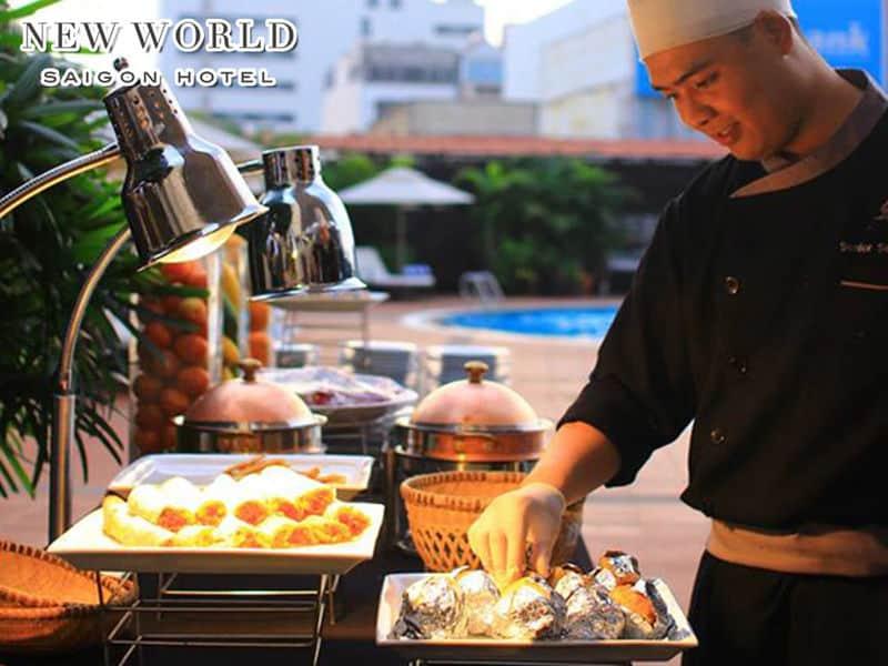Top 4 Nhà Hàng Buffet 5 Sao Sang Trọng Tại TP HCM - nhà hàng buffet 5 sao sang trọng - New World Saigon Hotel 5 Sao   Nhà Hàng Windsor Plaza Hotel   Saigon Kitchen Hotel Des Arts 5* 21