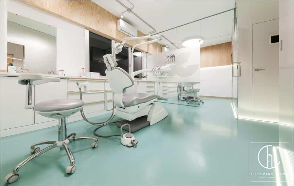 danh sách địa chỉ thiết kế nội thất phòng khám nha khoa tại hcm