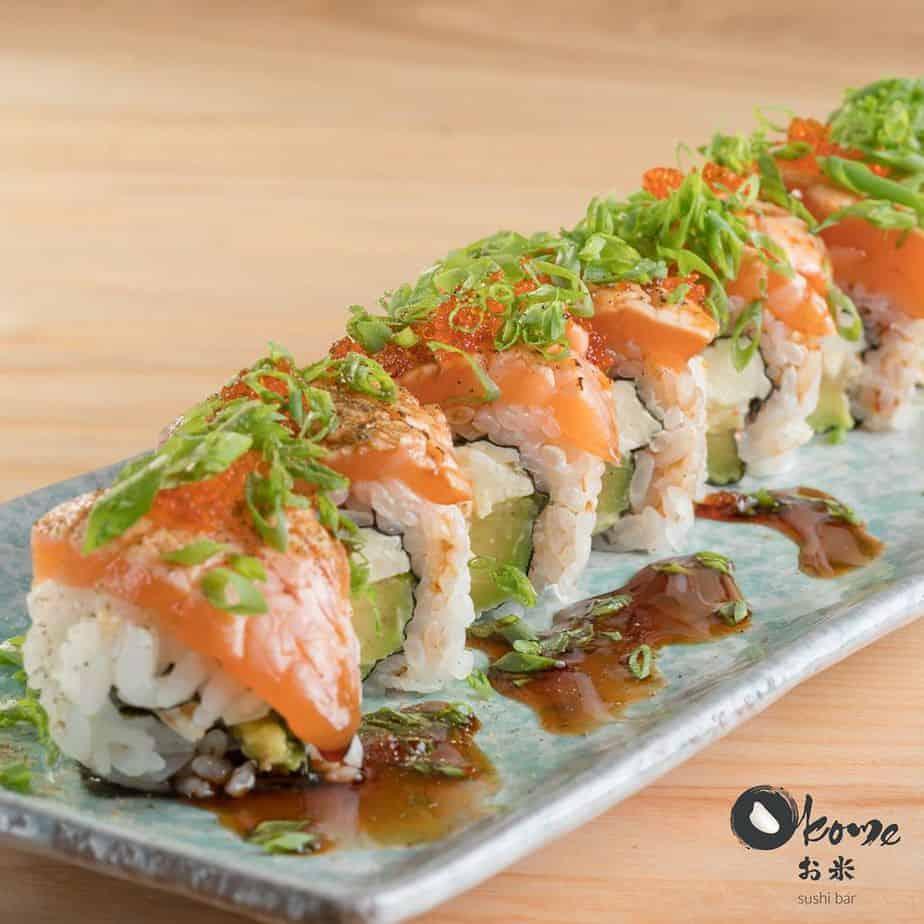 Top 6 Nhà Hàng Sushi Ngon Nhất Tại Quận 1 TPHCM - nhà hàng shushi ngon nhất tại quận 1 - Haha Sushi | Nhà hàng Lá Phong | Okome Sushi Bar 47