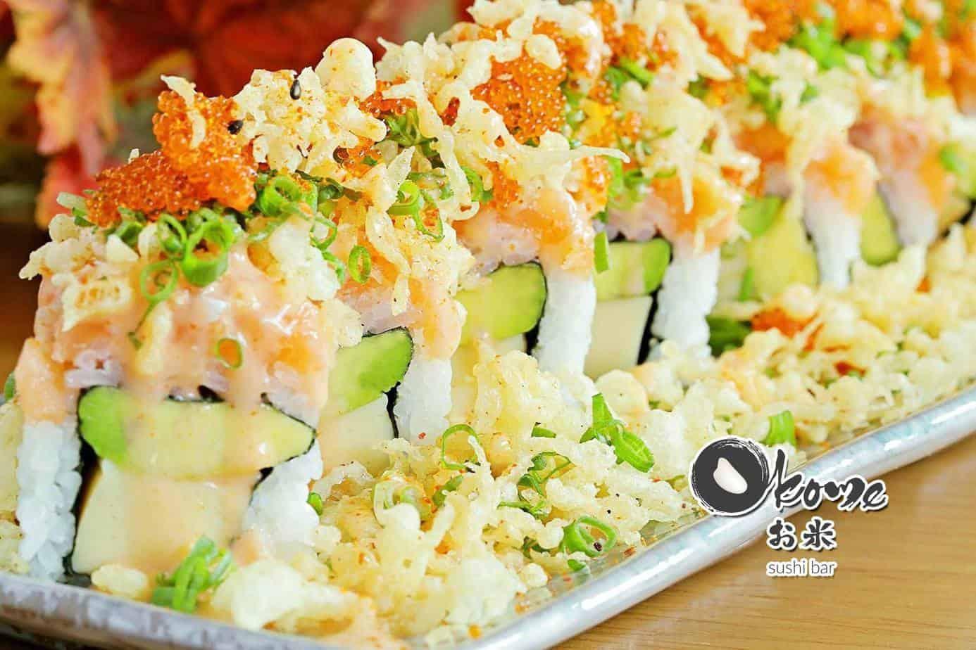 Top 6 Nhà Hàng Sushi Ngon Nhất Tại Quận 1 TPHCM - nhà hàng shushi ngon nhất tại quận 1 - Haha Sushi | Nhà hàng Lá Phong | Okome Sushi Bar 45
