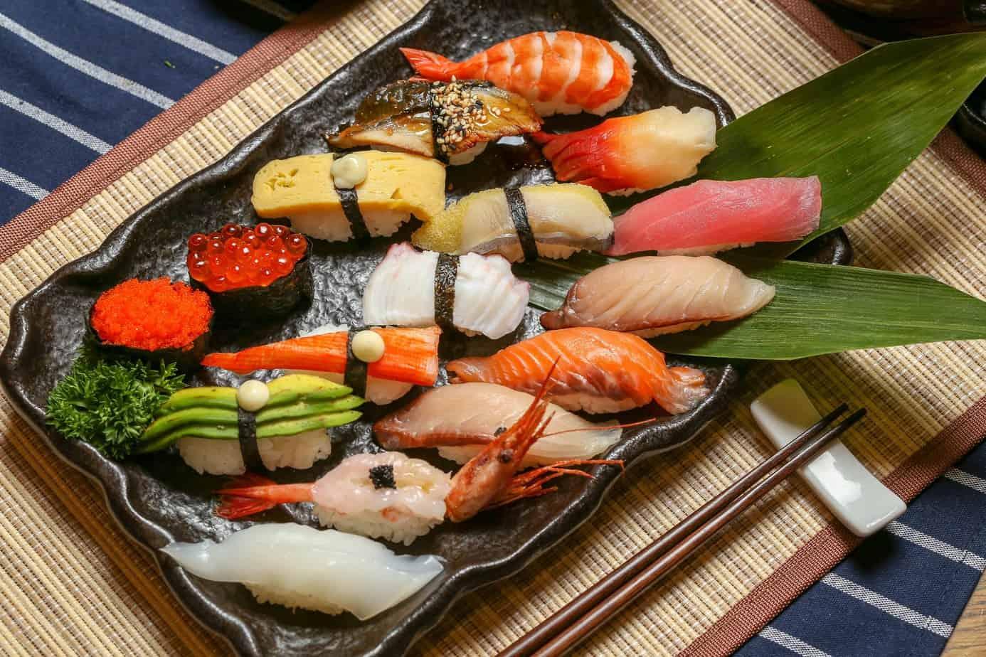 Top 6 Nhà Hàng Sushi Ngon Nhất Tại Quận 1 TPHCM - nhà hàng shushi ngon nhất tại quận 1 - Haha Sushi | Nhà hàng Lá Phong | Okome Sushi Bar 43