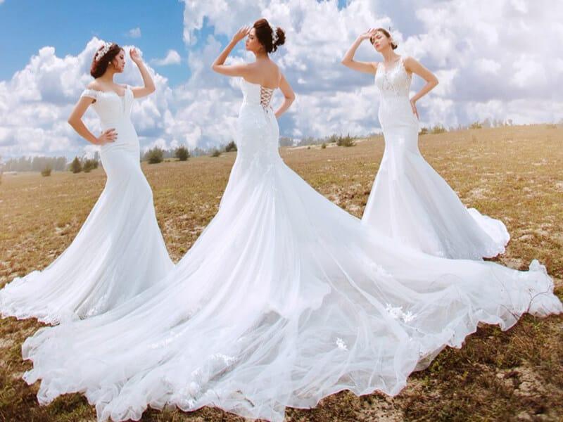 Top 10 Cửa Hàng Cho Thuê Váy Cưới Đẹp, Chất Lượng Ở Đà Nẵng - cửa hàng cho thuê váy cưới đẹp - Áo Cưới Cát Tường   Bella Wedding Studio's   Duy Wedding 43