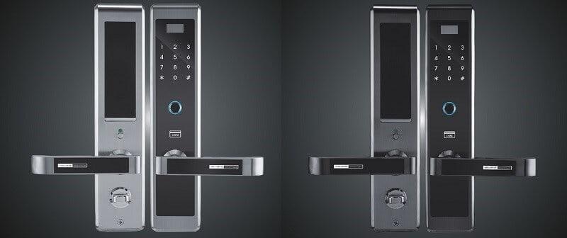 1. Khóa cửa vân tay Hilux HI-8800 - khóa thông minh có sử dụng vân tay
