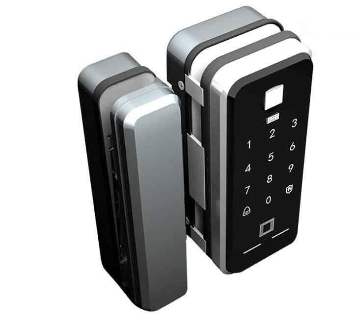 7. Khóa vân tay cửa kính ZKAT Smart Lock
