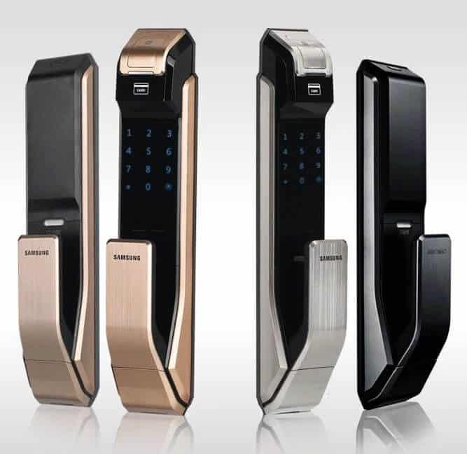 6. Khóa cửa vân tay Samsung SHS P718