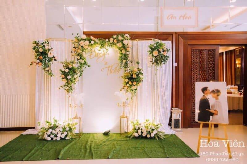 Top 8 dịch vụ Decor Tiệc cưới Đẹp Tuyệt Vời Ở Huế - dịch vụ decor tiệc cưới ở huế - Dịch vụ trang trí tiệc cưới An Nhiên | Dịch vụ trang trí tiệc cưới Hoa Viên | Dịch vụ trang trí tiệc cưới hỏi Happy 17