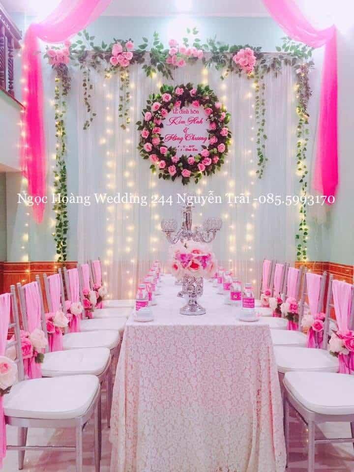 dịch vụ decor tiệc cưới ở huế