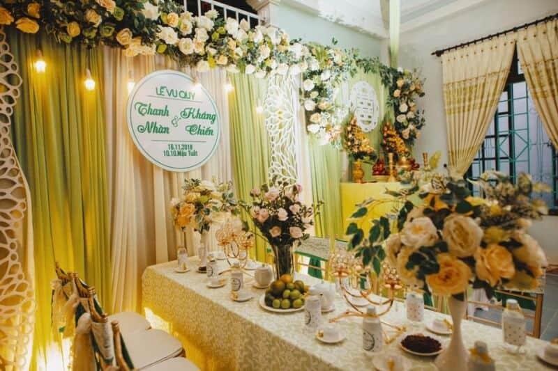 Top 8 dịch vụ Decor Tiệc cưới Đẹp Tuyệt Vời Ở Huế - dịch vụ decor tiệc cưới ở huế - Dịch vụ trang trí tiệc cưới An Nhiên | Dịch vụ trang trí tiệc cưới Hoa Viên | Dịch vụ trang trí tiệc cưới hỏi Happy 29