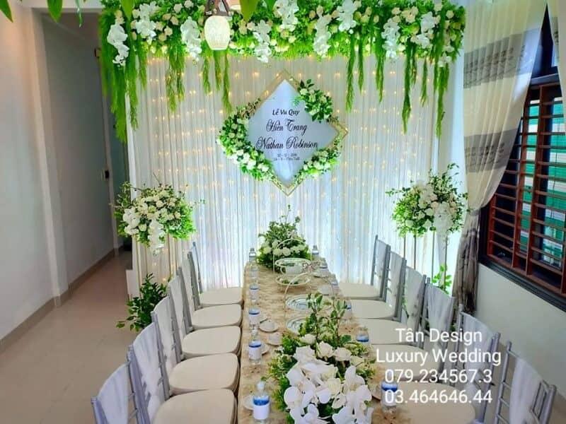 Top 8 dịch vụ Decor Tiệc cưới Đẹp Tuyệt Vời Ở Huế - dịch vụ decor tiệc cưới ở huế - Dịch vụ trang trí tiệc cưới An Nhiên | Dịch vụ trang trí tiệc cưới Hoa Viên | Dịch vụ trang trí tiệc cưới hỏi Happy 19