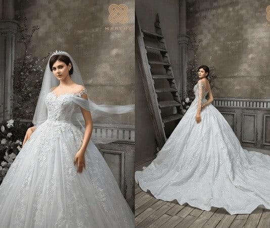 Top 10 Cửa Hàng Cho Thuê Váy Cưới Đẹp, Chất Lượng Ở Đà Nẵng - cửa hàng cho thuê váy cưới đẹp - Áo Cưới Cát Tường   Bella Wedding Studio's   Duy Wedding 57