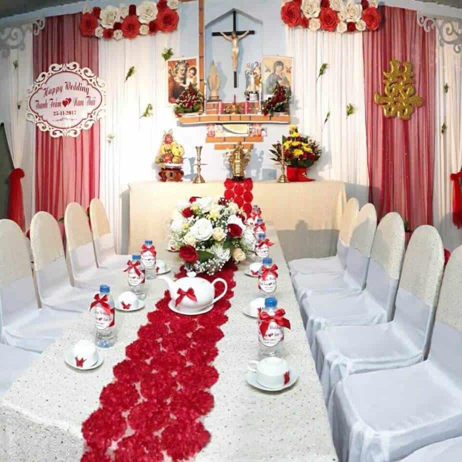 Top 8 Dịch Vụ Trang Trí Tiệc Đám Cưới Nổi Tiếng Đông Hà, Quảng Trị - dịch vụ trang trí tiệc đám cưới nổi tiếng đông hà - Cưới hỏi trọn gói Minh Tuấn | Dịch vụ cưới hỏi Bê Vàng | Dịch vụ cưới hỏi Công Minh 23