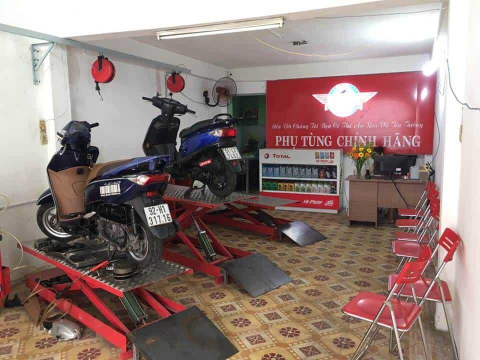 tiệm sửa xe máy uy tín