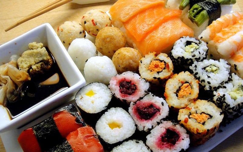 Nhà hàng nhật chất lượng The Sushi World