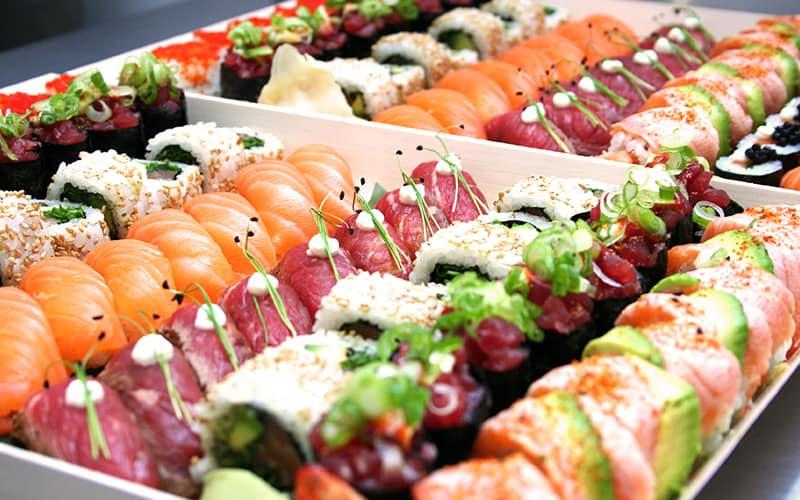 Nhà hàng nhật Michi Sushi 2