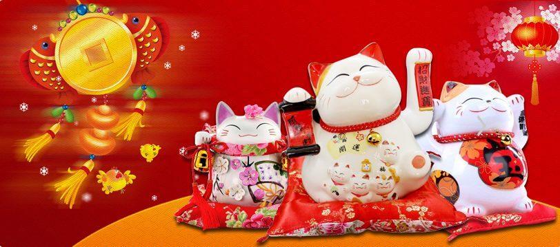 Top 7 Cửa Hàng Bán Mèo May Mắn Cầu Tình Duyên Nổi Tiếng - mèo may mắn cầu tình duyên - Hapyoko | Lucky Shop | Maneki Neko 27