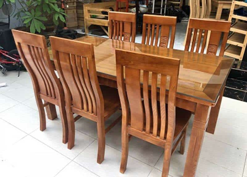 xưởng sản xuất bàn ăn gỗ giá sỉ