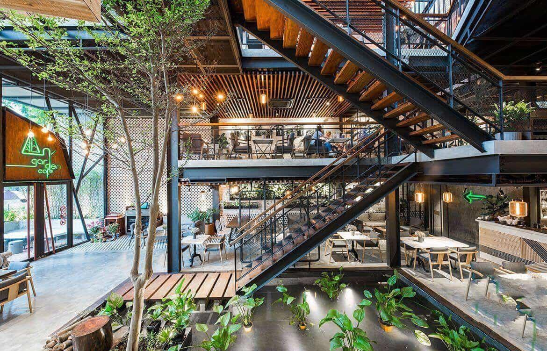 Top 10 Dịch Vụ Thiết Kế Và Thi Công Quán Cafe Đẹp Ở HCM -  - Công Ty Cổ Phần Trang Trí Thiết Kế Điểm Vàng | Công ty Cổ Phần Xây Dựng Ánh Gia Phúc | Công ty cổ phần xây dựng và nội thất Aeros 29