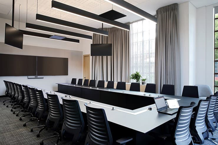 mẫu thiết kế phòng họp đẹp