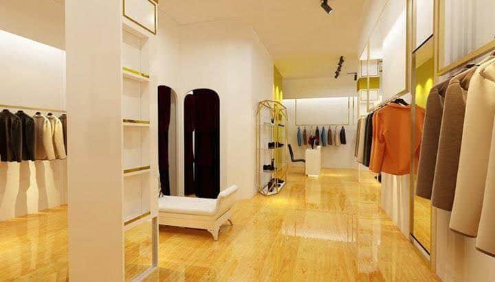 lưu ý khi thiết kế nội thất shop thời trang