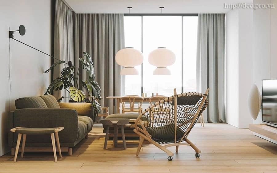 Top 13 Lưu Ý Khi Thiết Kế Nội Thất Nhà Phố, Căn Hộ 60- 75m2 -  - Mẫu thiết kế nội thất đẹp 39