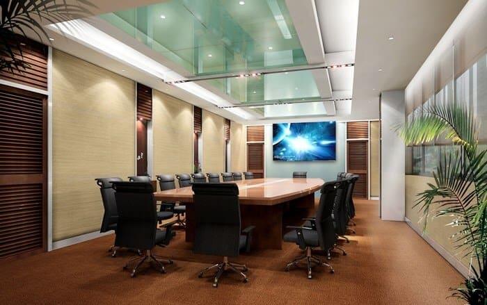 Top 6 Mẫu Thiết Kế Nội Thất Phòng Họp Đẹp, Sang Trọng Nhất -  - Mẫu thiết kế nội thất đẹp | thiết kế nội thất phòng họp 37