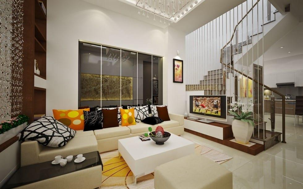 Top 20 Mẫu Thiết Kế Nội Thất Nhà Phố, Nhà Ống Đẹp Ấn Tượng Nhất -  - mẫu thiết kế nhà ống đẹp | mẫu thiết kế nhà phố đẹp | Mẫu thiết kế nội thất đẹp 41