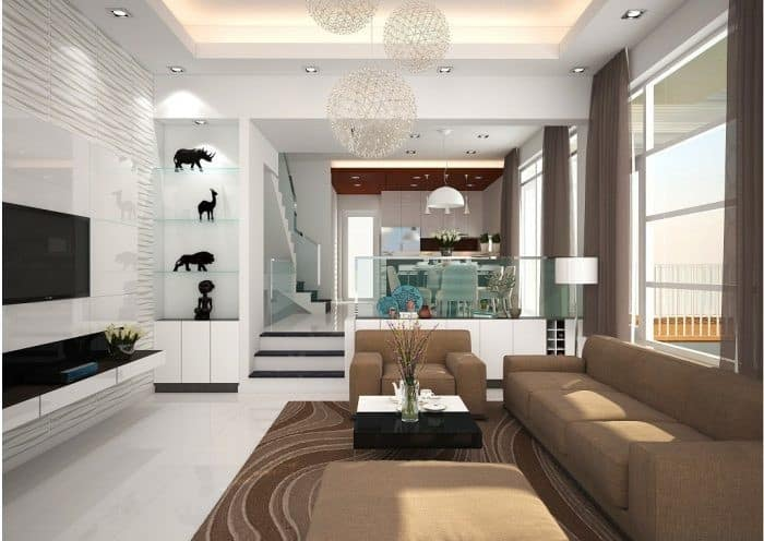 Top 20 Mẫu Thiết Kế Nội Thất Nhà Phố, Nhà Ống Đẹp Ấn Tượng Nhất -  - mẫu thiết kế nhà ống đẹp | mẫu thiết kế nhà phố đẹp | Mẫu thiết kế nội thất đẹp 61